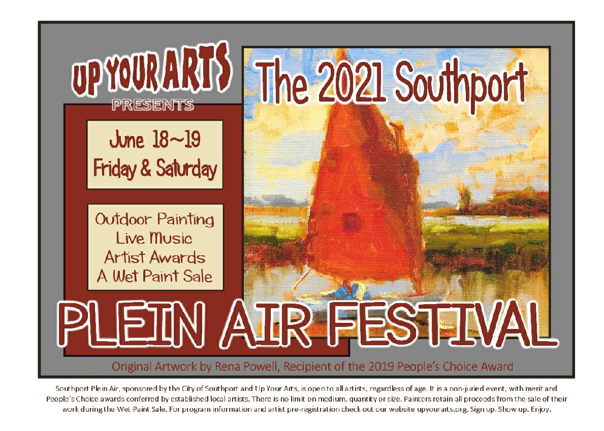 2021 Plein Air Festival Poster