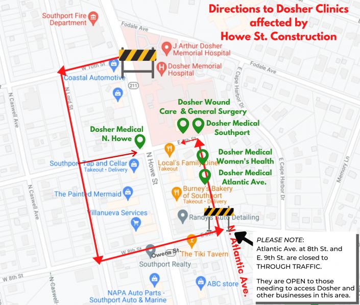 Dosher Detour June 24