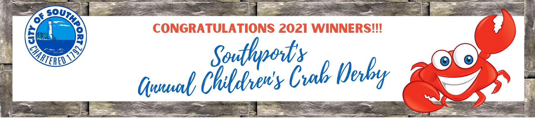 Crab Derby Winners